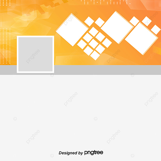 Website banner, Online Home, Orange Banner, Square Puzzle PNG and Vector