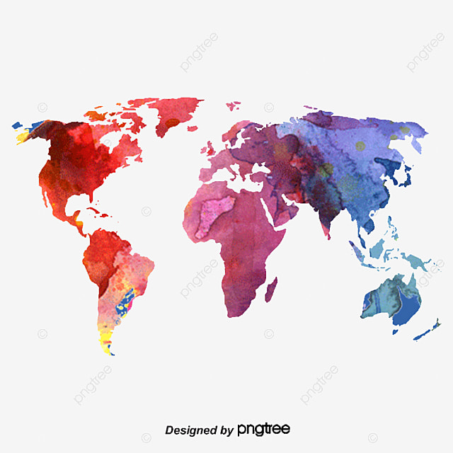 Vector color map of the world world map map cartoon map png and when using this vector you can unlimited download a lot more similar and commercial use imageick here gumiabroncs Image collections