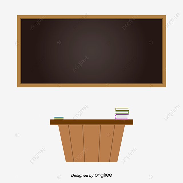 classroom table vector. classroom blackboard, desk, blackboard newspaper, vector free png and table