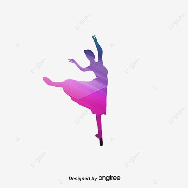 jeune fille danse danser danser silhouette fichier png et