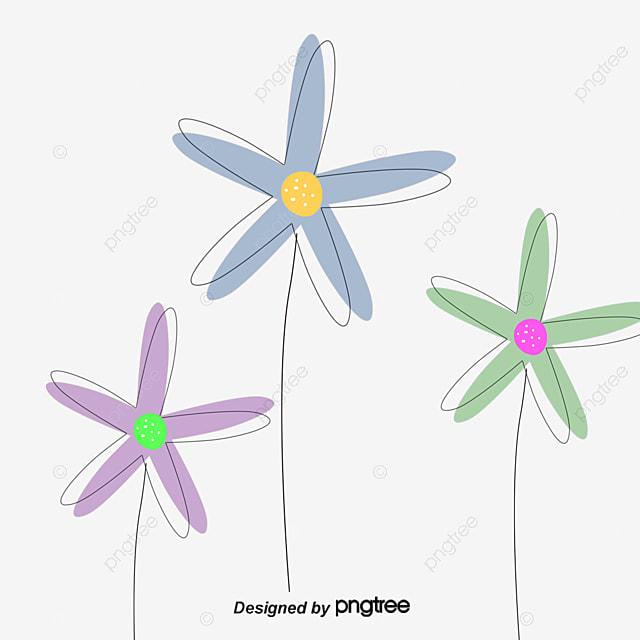Vector cartoon flowers and butterflies, Butterfly, Flowers, Cartoon Flowers PNG and Vector