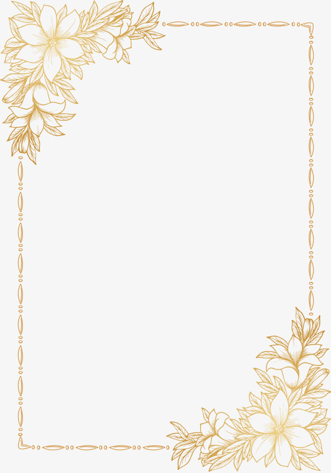 Invitations Decorative Elements  Yellow  Hollow  Frame Png