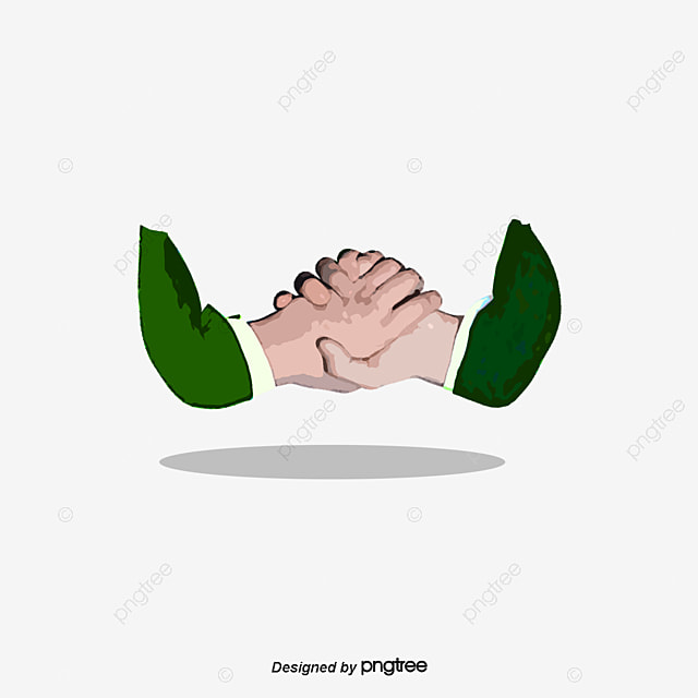 handshake icon cartoon hand painted ui png and vector for free rh pngtree com cartoon trump handshake cartoon trump handshake