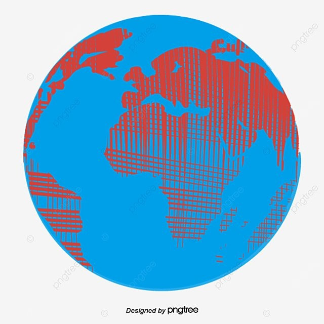 Earth icon earth ball map png and vector for free download - Ball image download ...