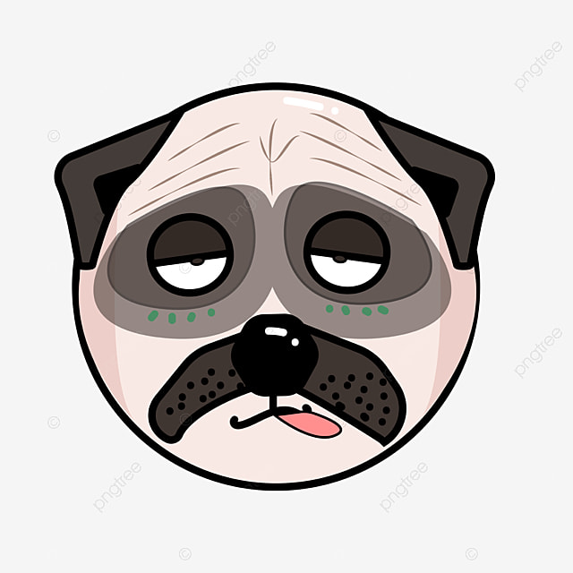 E Pug Gratis Cute pug., Pug., Pinta...