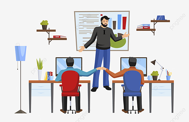 Reprimenda a los empleados jefe, Jefe, Empleado, Altavoz PNG y ...