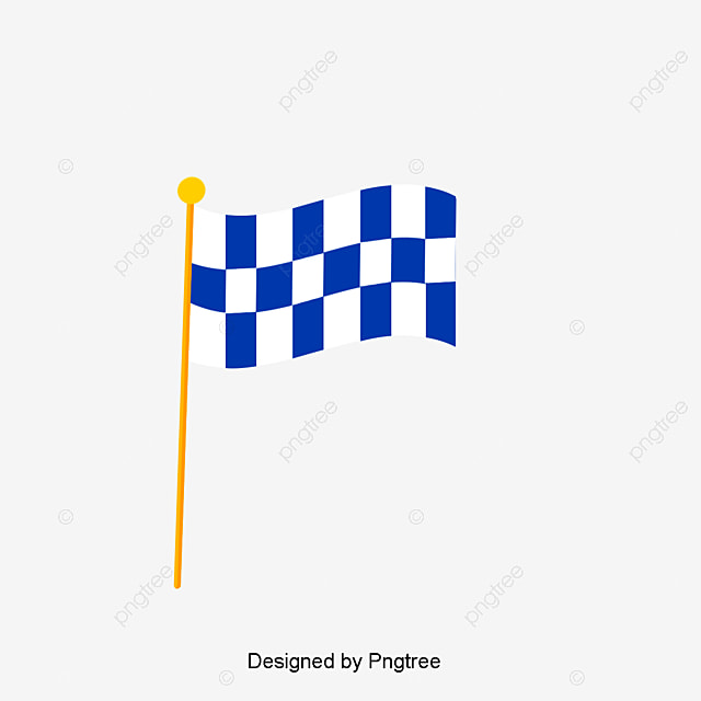 checkered flag end black and white lattice the finish line png