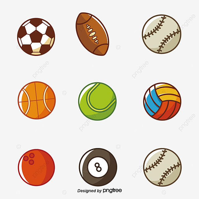 85aa2f4a6c75a Todos OS Tipos De Bolas A Bola Rugby Bola De Basquete PNG Imagem ...