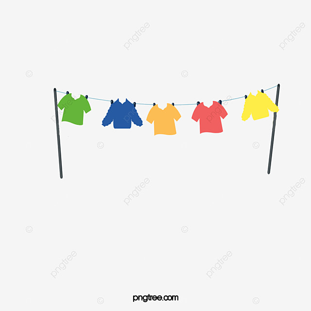 Clothes Line Clip Art ~ Clothesline clothes hanger rope png image and clipart
