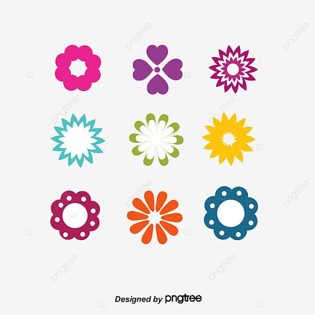 Beautiful Flowers Vector Logo Flowers Logo Flower Label Flowers