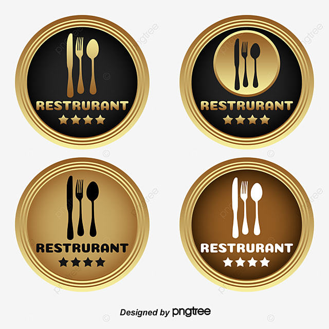 gold vip badge template download golden circle label vector