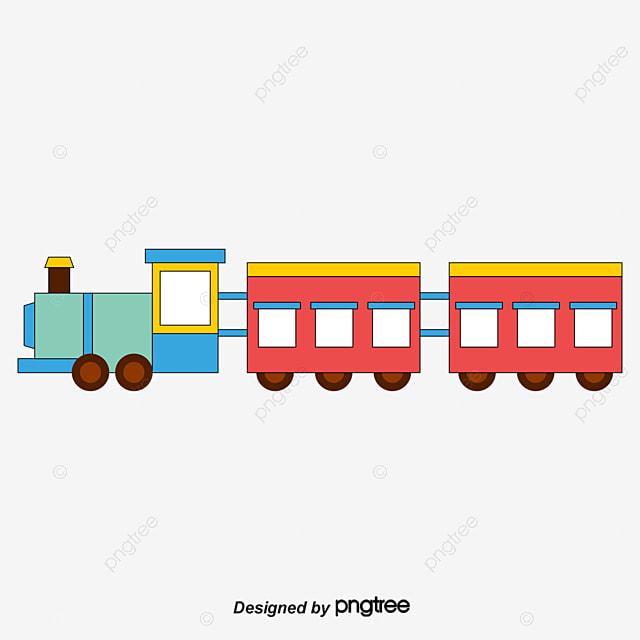Gambar Kereta Api Kartun Berwarna Gambar Kereta Api Kereta Api Kartun Cantik Png Dan Psd Untuk Muat Turun Percuma