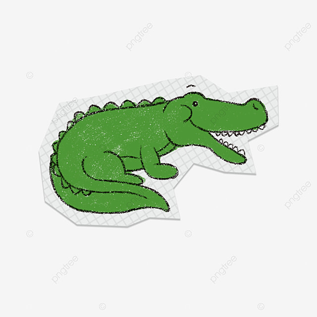green crocodile green crocodile leather crocodile yang crocodile rh pngtree com crocodile clipart image cute crocodile clipart