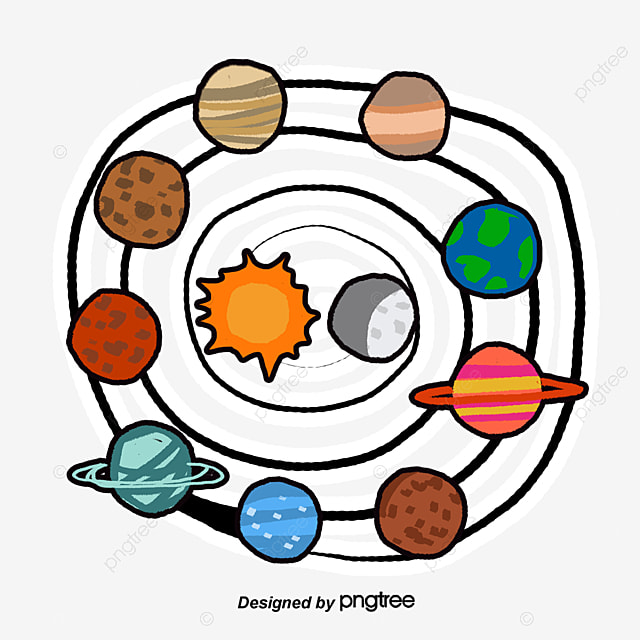 solar system vector free download - photo #31