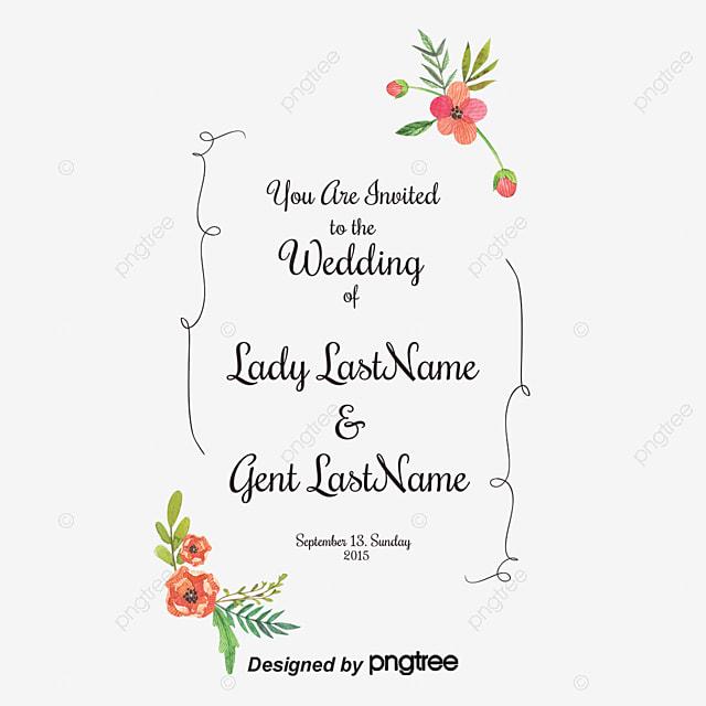 La Fleur De La Lettre D Invitation De Mariage De Motif Se