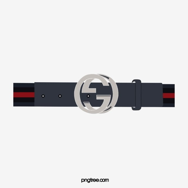 8362afd2a07 gucci men interlocking g canvas with leather belt