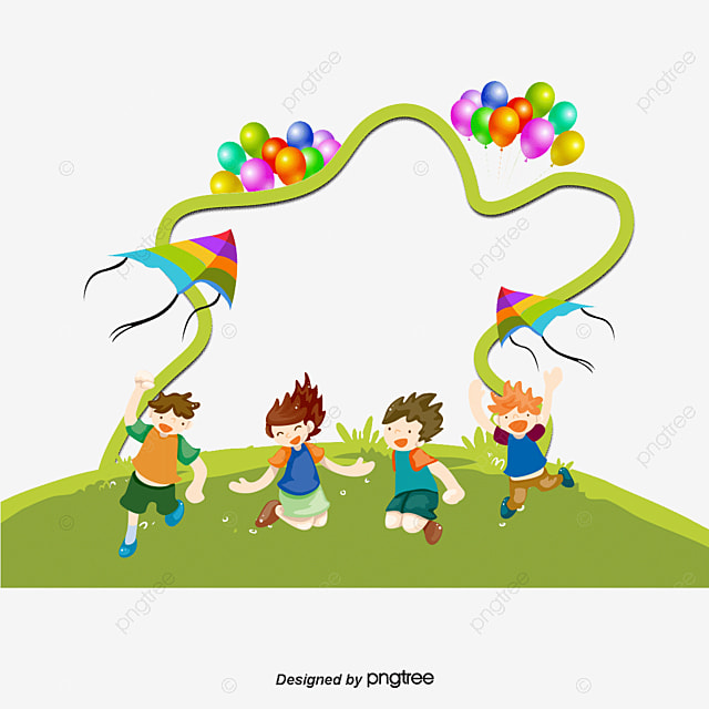 kids and balloons children balloon decoration png and psd - Free Images Of Kids