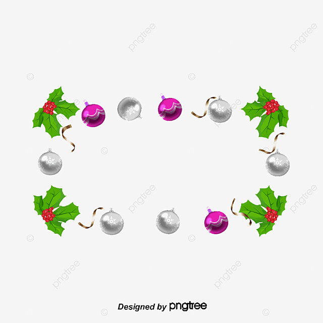 christmas decoration border