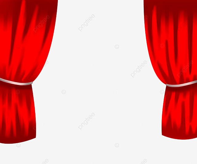 Purple Stage Curtain Curtains Rose Picture PNG Image And Clipart