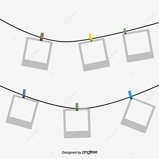 hanging paper  paper  photo frame  rope png transparent clipart image and psd file for free download