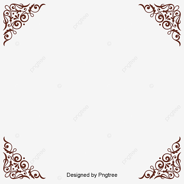 Vector Gold Pattern Frame Vector Golden Pattern Png And