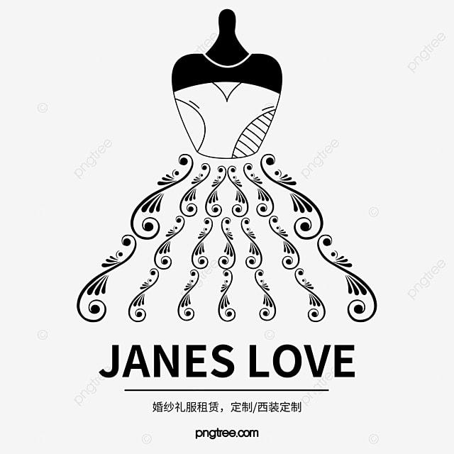 la robe de mariage de vecteur de logo robe de mari u00e9e robe