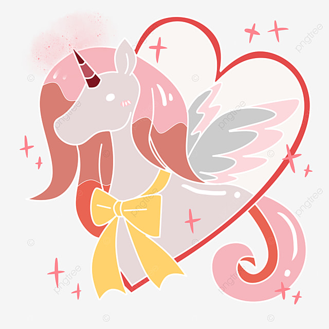 dessin de la licorne dessin licorne rose image png pour le