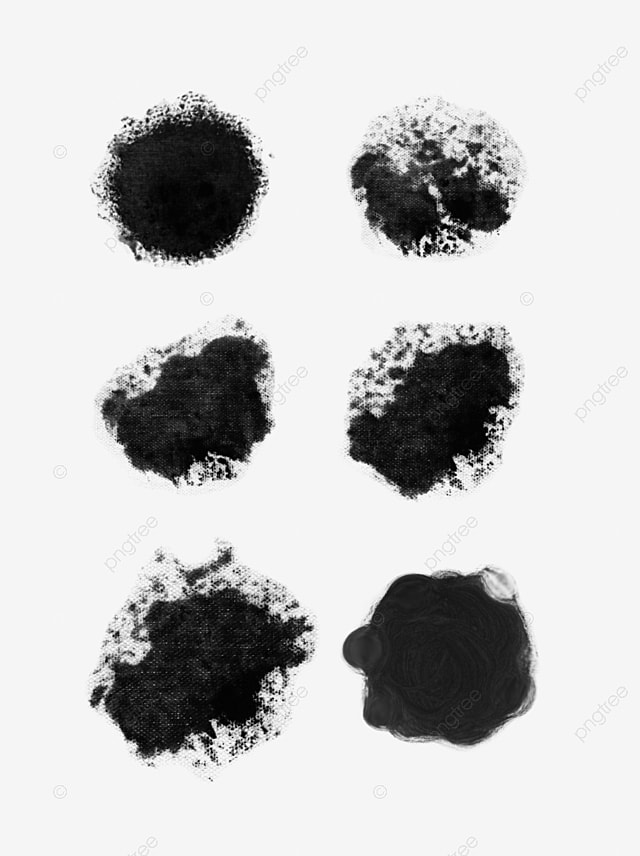 Paint Brush Stroke Clipart Black And White