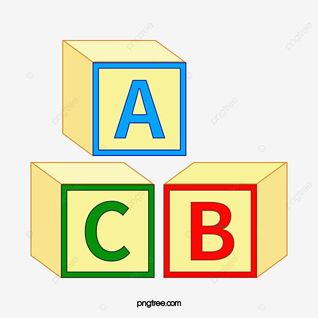 Cubo Abc O Cubo Letra Abc Png Imagem Para Download Gratuito