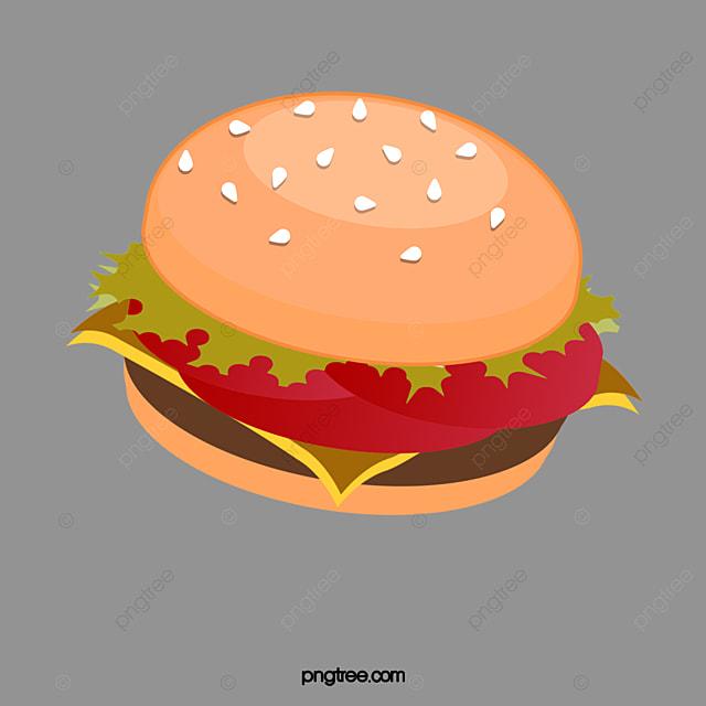 Great burgers material, Big Burger, Material, Schnitzel PNG Image