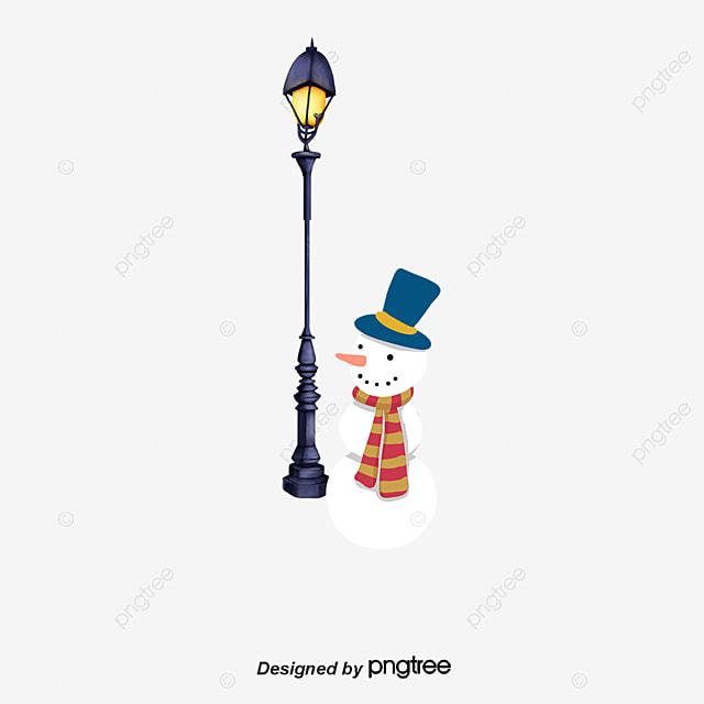 la lampe et le bonhomme de neige no l lampadaire no l de r verb re bonhomme de neige png et. Black Bedroom Furniture Sets. Home Design Ideas