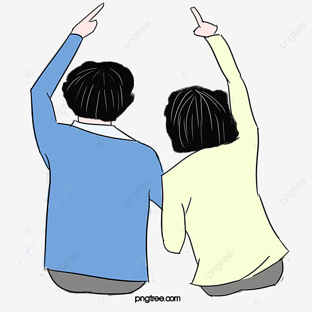 Old age people couples gesture, Old Age, Character, Couples Gesture PNG Image