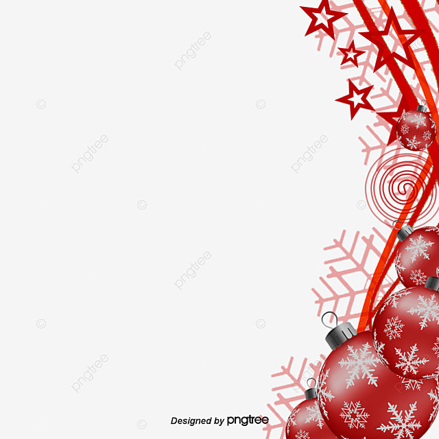 Christmas Atmosphere Background Clipart Elements Decoration PNG And PSD