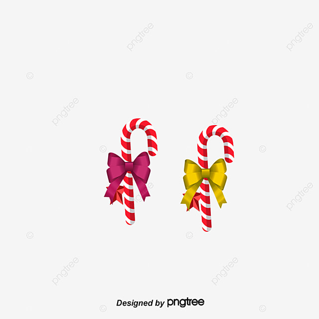 Christmas Candy Cane Color PNG And PSD
