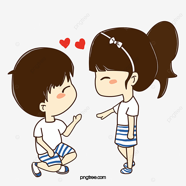 Boys And Girls In Love In Love Boy Girl Png Transparent Clipart