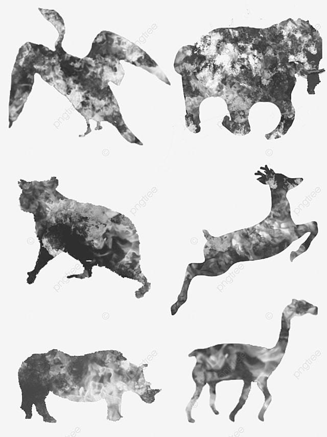 diagramme de chameaux en noir et blanc chameau noir blanc fichier png et psd pour le
