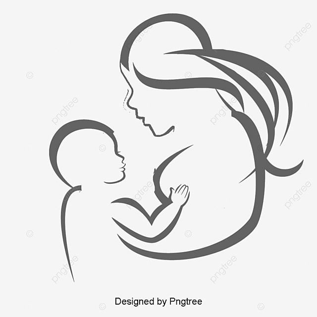 motherhood illustration  festival logo graphic  festival mom and dad clipart free busy mom clipart free