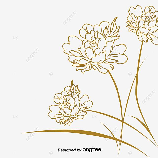 D Line Drawings Logo : Lotus line drawings clipart