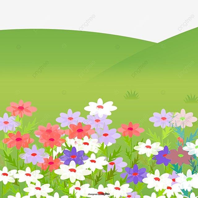 Dibujos De Flores Y Hierba Dibujos De Flores Meadow Fondo De Dibujos