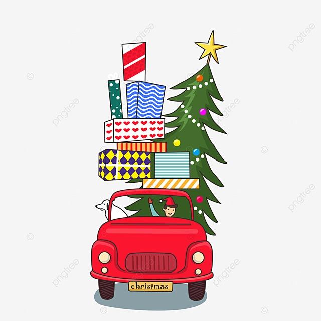 Pintado A Mano De Navidad Auto Pintado A Mano Regalo De Navidad