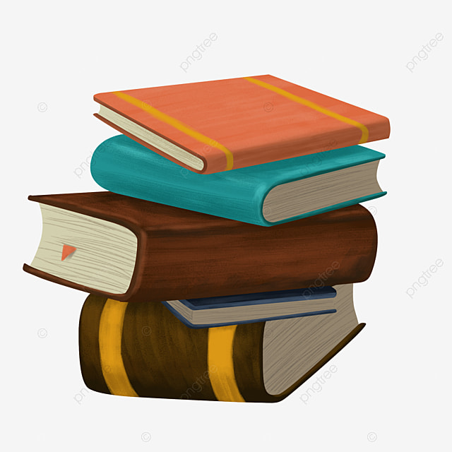 A stack of old books, Books, Book PNG Image for Free Download