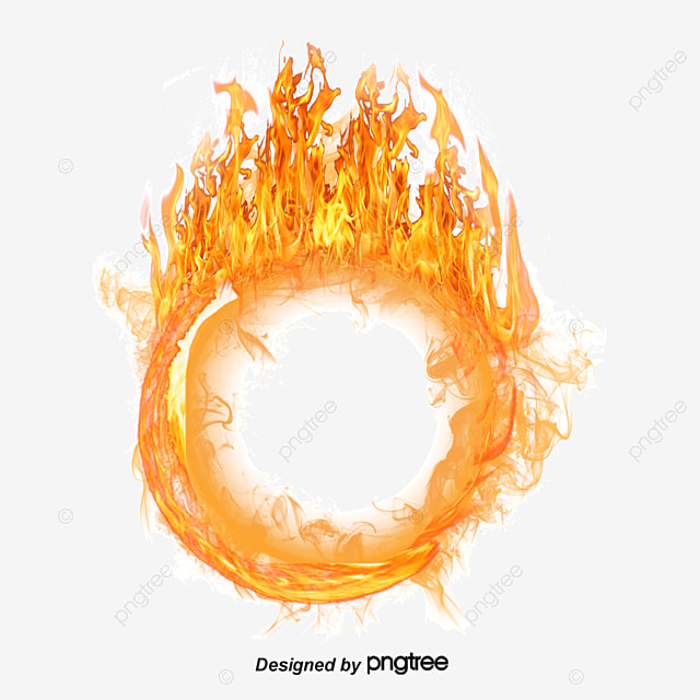 A Ring Of Fire, Ring Of Fire, Flame, Vector PNG And Vector