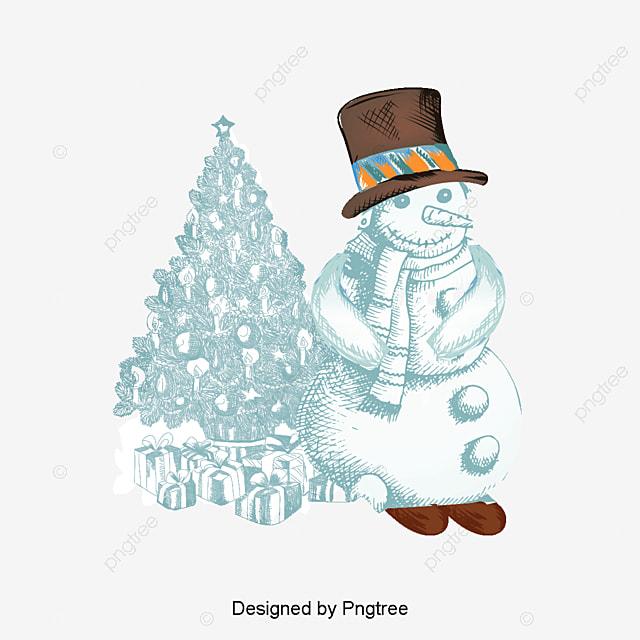 Dibujos Animados De Navidad Muñeco De Nieve Dibujos Animados De ...