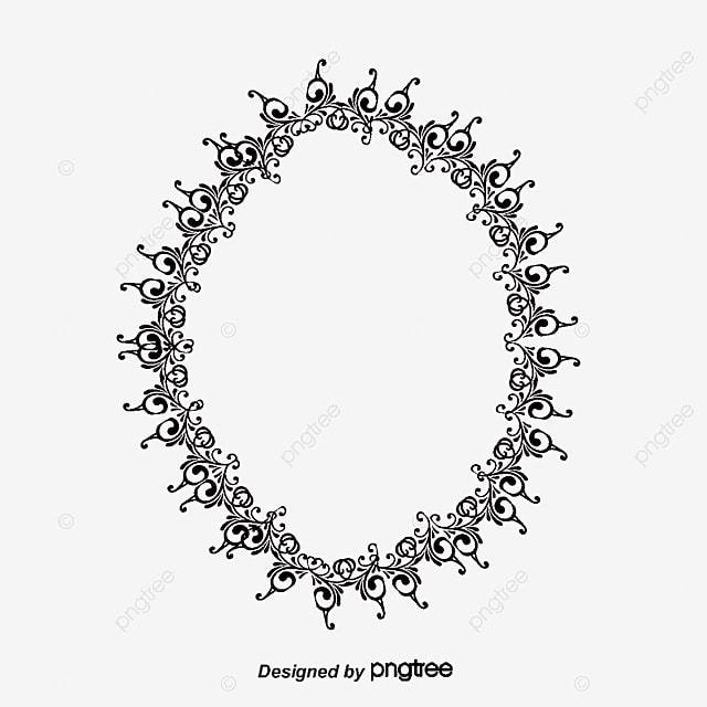 bordure elliptique noir motif de bordure mod u00e8le europ u00e9en