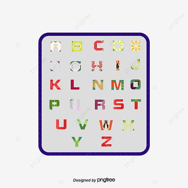 alphabet de vecteur alphabet cr u00e9atif fontwork png et