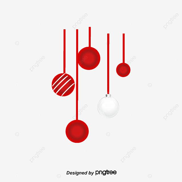 Vector rojo bola de navidad bola roja luces rojas - Bolas de navidad rojas ...