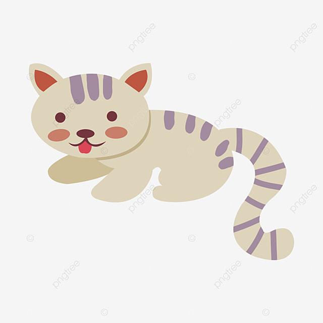 joli dessin peints  u00e0 la main petit chat noir et blanc