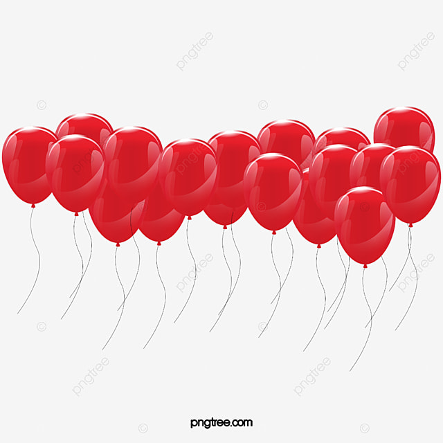 Red Balloon Red Balloon Joyous Png Image For Free Download