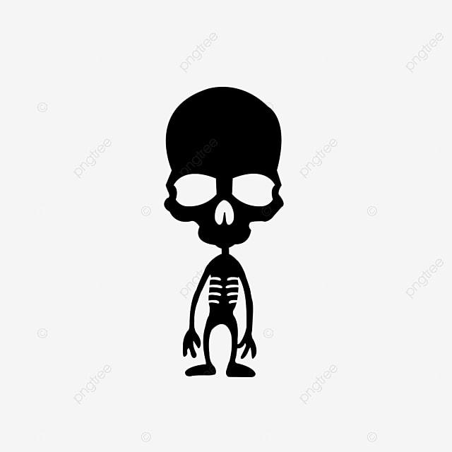 Esqueleto Humano, Cráneo, Gris Oscuro, Esqueleto Humano Imagen PNG ...