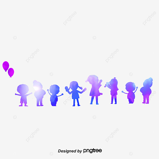 children silhouettes holding hands children holding hands